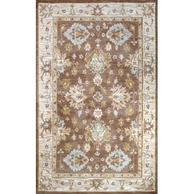 Block Island Elvis Brown Area Rug Rug Size: 76 x 96