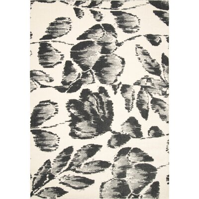Thames Gray Area Rug Rug Size: Rectangle 53 x 8