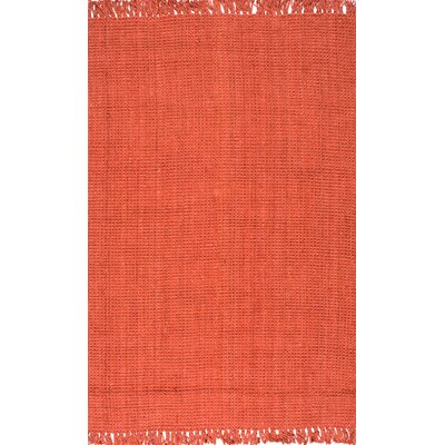 Windom Hand-Woven Terra Area Rug Rug Size: Rectangle 76 x 96