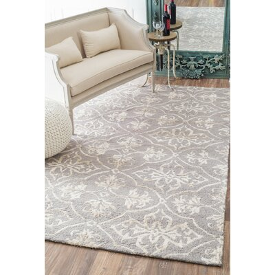 San Miguel Watson Gray Area Rug Rug Size: Rectangle 9 x 12