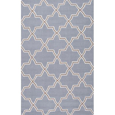 Cine Moroccan Trellis Sky Area Rug Rug Size: Rectangle 5 x 8