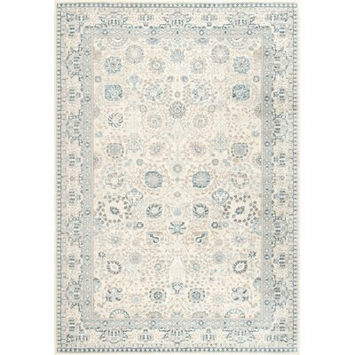 Lucienne Bone Area Rug Rug Size: 5'3
