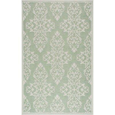 Bivins Green Indoor/Outdoor Area Rug Size: 7' 10