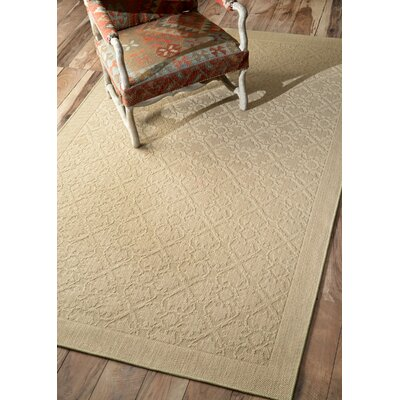 Natura Solid Beige Area Rug Rug Size: Rectangle 9 x 12