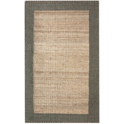 Algonquin Hand-Woven Algonquinl/Grey Area Rug Rug Size: Rectangle 6 x 9