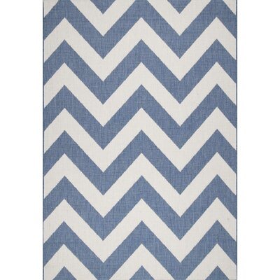 Dawn Blue Erende Indoor/Outdoor Area Rug Rug Size: 63 x 92