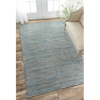 Modella Nile Harlow Hand-Tufted Blue Area Rug Rug Size: 6 x 9
