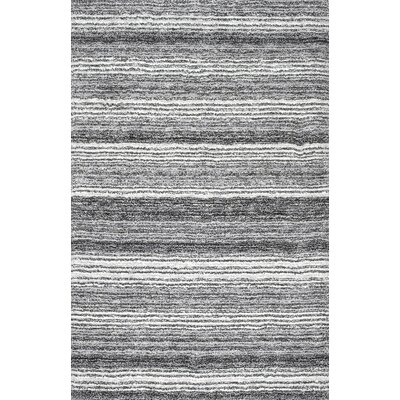 Weeden Hand-Tufted Gray Area Rug Rug Size: Rectangle 5 x 8