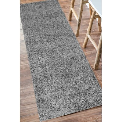 Cornwall Gray Area Rug Rug Size: Round 8