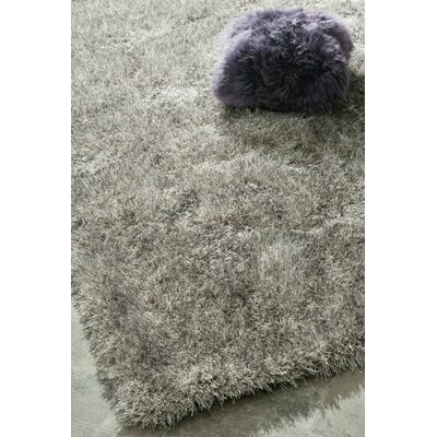Cine Hand-Tufted Gray Area Rug Rug Size: 8 x 10