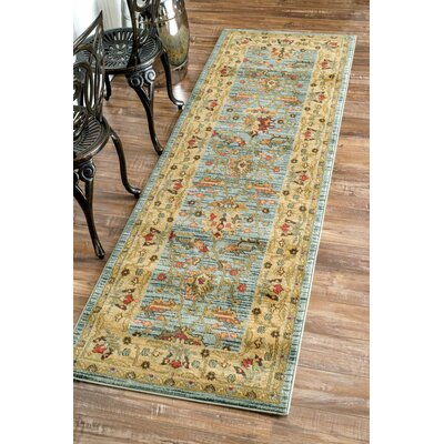 Ziegler Sahar Gold Area Rug Rug Size: Rectangle 5'3