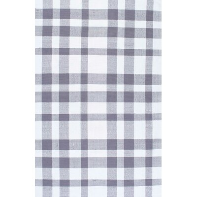 Benny Grey Area Rug Rug Size: Rectangle 4 x 6