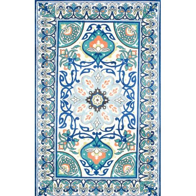Kujawa Blue Area Rug Rug Size: Rectangle 4 x 6