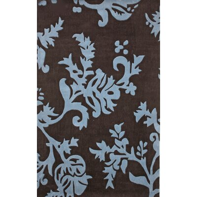 "nuLOOM Cine Paisleys Brown / Blue Area Rug - Rug Size: 3'6"" x 5'6"" at Sears.com"