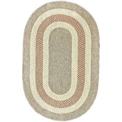 Festival Cherry Indoor/Outdoor Area Rug Rug Size: Oval 36 x 56