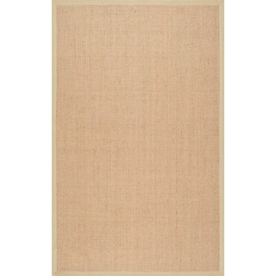 Alhambra Contemporary Sand Area Rug Rug Size: Rectangle 4 x 6