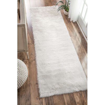Empire Off-White Area Rug Size: Runner 26 x 8