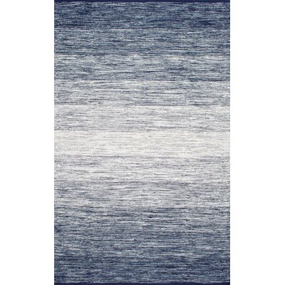 Gisele Flat Woven Blue Area Rug Rug Size: Rectangle 3' x 5'