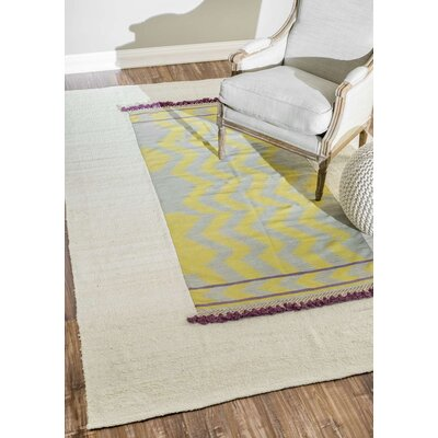 Sadie Yellow Area Rug