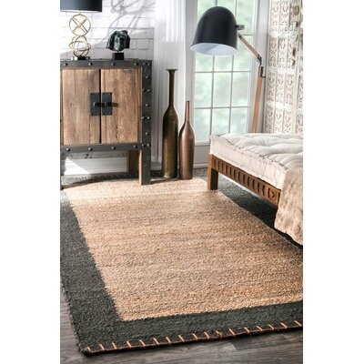 Algonquin Hand-Woven Algonquinl/Grey Area Rug Rug Size: Rectangle 3 x 5