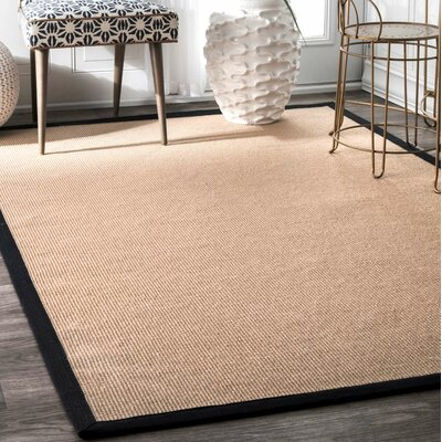 Natura Ivory Area Rug Rug Size: Rectangle 5 x 8