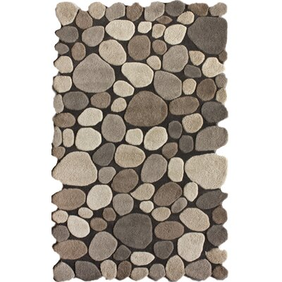 "nuLOOM Pebbles Pebbles Natural Area Rug - Rug Size: 3'6"" x 5'6"" at Sears.com"