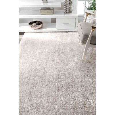 AlaudaIvory Area Rug Rug Size: Rectangle 5 x 8