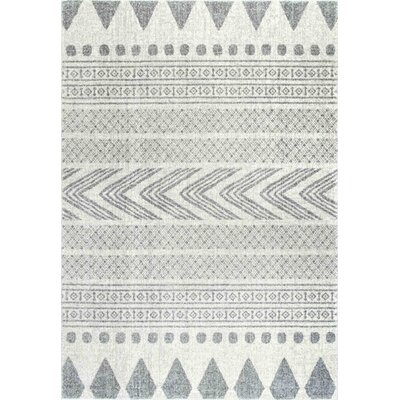 Berger Gray Area Rug Rug Size: Rectangle 8 x 10