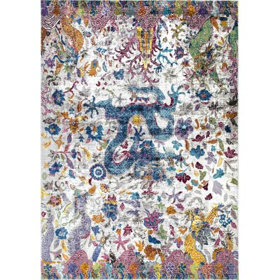Bender Ivory Area Rug Rug Size: Rectangle 5 x 8