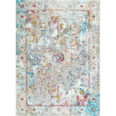 Chance Beige Area Rug Rug Size: Rectangle 710 x 96