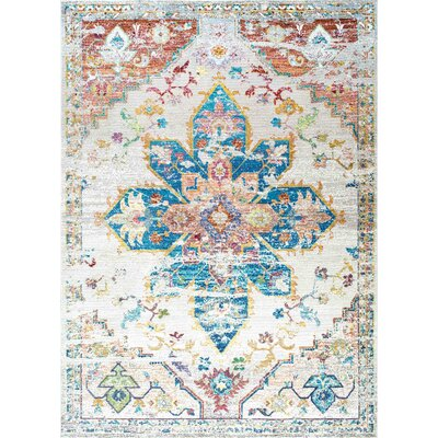 Concord Ivory Area Rug Rug Size: Rectangle 4 x 6