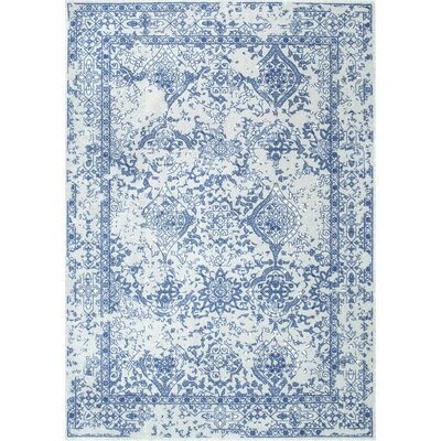 Pittwater Navy Blue Area Rug Rug Size: Rectangle 8 x 10
