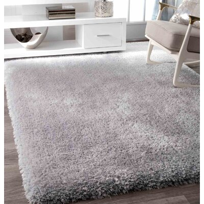 Alba Silver Area Rug Rug Size: Rectangle 76 x 96