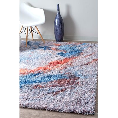 Anderton Gray/Blue Area Rug Rug Size: Rectangle 710 x 10
