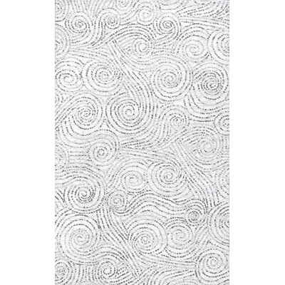 Aliette Ivory Area Rug Rug Size: 76 x 96