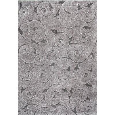 Annable Dark Gray Area Rug Rug Size: 53 x 76