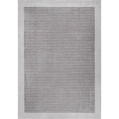 Emberton Gray Area Rug Rug Size: 53 x 76