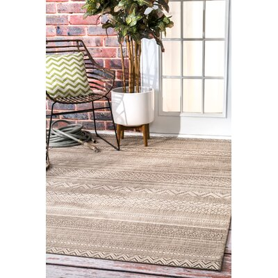 Laguna Hills Beige Area Rug Rug Size: Rectangle 53 x 76