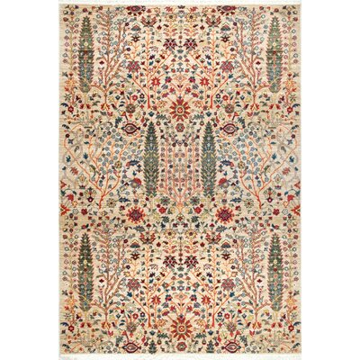Marianna Olive/Red Area Rug Rug Size: 9 x 12
