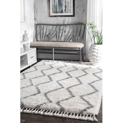 Phelps Gray Area Rug Rug Size: Rectangle 53 x 76