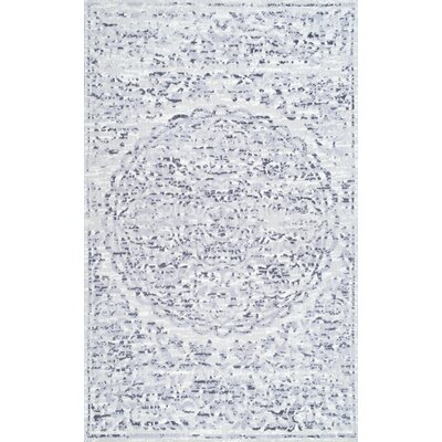 Falmouth Gray Area Rug Rug Size: 76 x 96