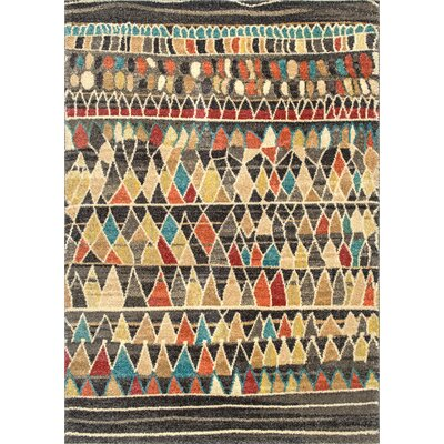 Matafao Dark Brown Area Rug Rug Size: Rectangle 5 x 75