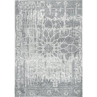 Obryan Gray Area Rug Rug Size: 8 x 10