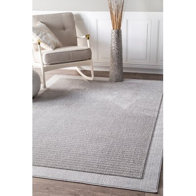 Emberton Gray Area Rug Rug Size: Rectangle 710 x 10