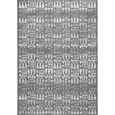 Potvin Dark Gray Area Rug Rug Size: 8 x 10
