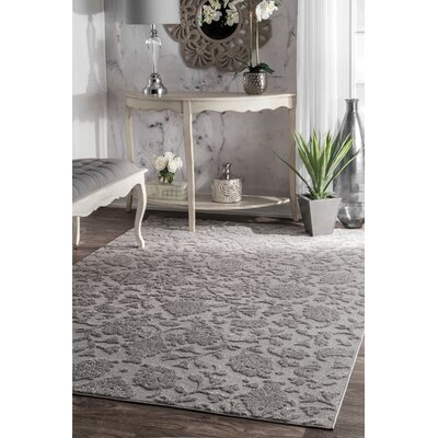 Cerro Dark Gray Area Rug Rug Size: Rectangle 5 x 8