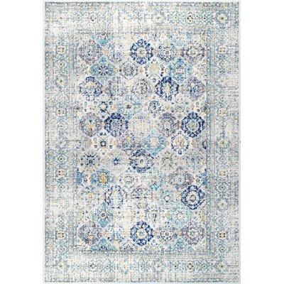 Obry Blue Area Rug Rug Size: 8 x 10