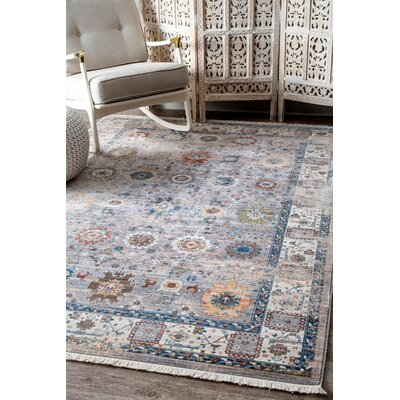 Flint Gray Area Rug Rug Size: Rectangle 8 x 10