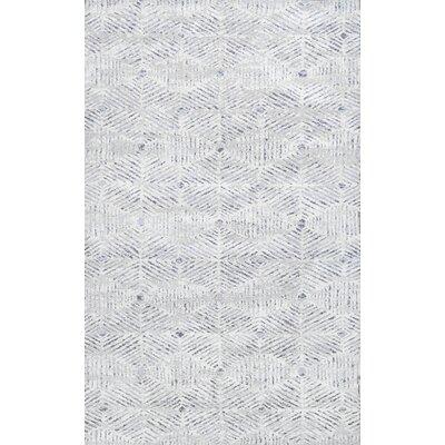 Saragosa Ivory Area Rug Rug Size: 76 x 96