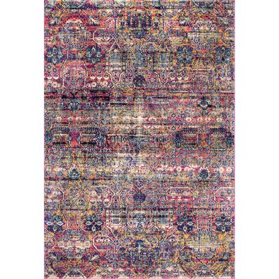 Mauna Kea Pink Area Rug Rug Size: Rectangle 76 x 96